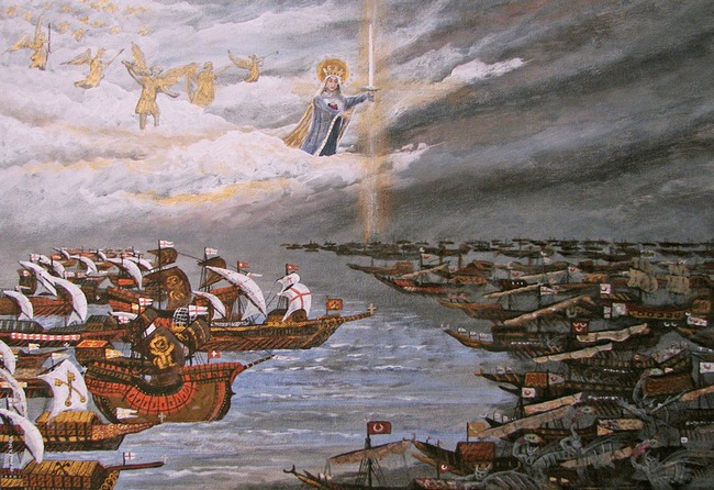 Battle Of Lepanto And Our Lady Of Victory By Fr George W